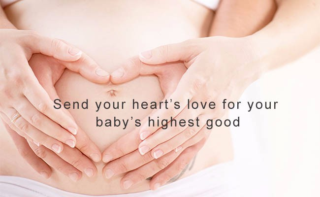 Send your heart's love for your baby's highest good | Quantum Energy Healers | Counseling Friendswood, TX