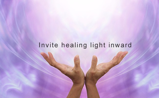 Invite healing light inward | Quantum Energy Healers | Counseling Friendswood, TX