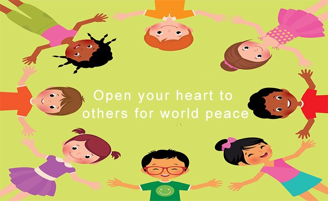 Open your heart to others in world peace | Quantum Energy Healers | Counseling Friendswood, TX
