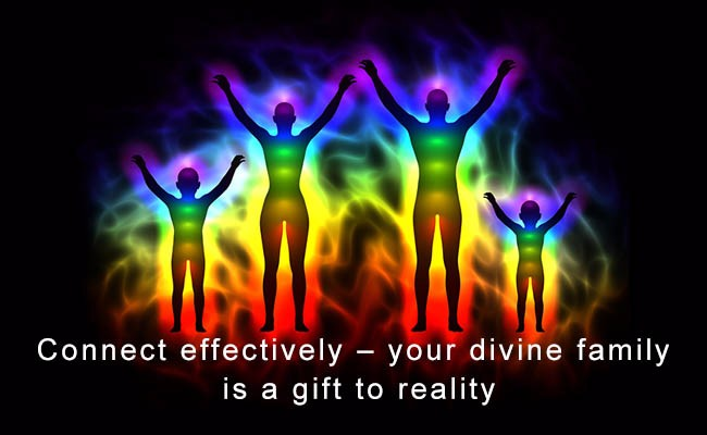 Connect effectively your divine family is a gift to reality | Quantum Energy Healers | Counseling Friendswood, TX